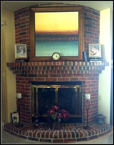 Should I Paint That Brick Fireplace?.... YES!