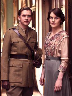 Matthew and Mary Crawley