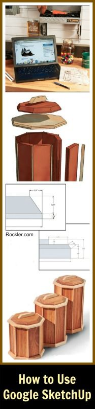 How to Use Google SketchUp and CAD Programs to Make 3D Project Drawings. Rockler.com