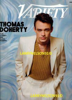 Variety Magazine, Thomas Doherty, Cover Pics, Rupaul, Movie Tv, Magazines, Brand New, Journals