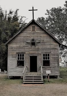 Old church ~ I would love to hear that bell ringing on Sunday mornings.