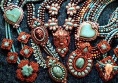Getting ready for the Houston Rodeo! All new designs and stunning showstopper necklaces! More to come... Stay tuned!  #maverickrose #originaljewelry #resinjewelry #uniquejewelry #handcrafted jewelry #houstonrodeo2016