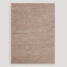One of my favorite discoveries at WorldMarket.com: Gray Kamal Flat-Woven Hemp Rug