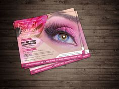 design beauty postcard and packeging for your business by cooldesignings