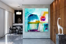 Items similar to Large Abstract Painting,unique painting art,painting extra large,modern abstract,large textured art on Etsy Unique Paintings, Original Paintings, Oversized Canvas Art, Abstract Canvas Art, Abstract Paintings, Bathroom Wall Art, Modern Wall Decor, Texture Painting, Colorful