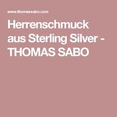 Herrenschmuck aus Sterling Silver - THOMAS SABO