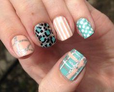 Mix n match nails.