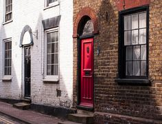 This Brick English Homes was taken in downtown Aylesford, Kent, England. - by Lost Kat Photo lostkat.com
