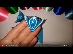 Лепесток- мотылек. Канзаши. Мастер класс.\ DIY \ サテンリボンの花\ Flower of satin ribbons - YouTube