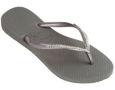 Dinis HAVAIANAS Fashion Jeweled Flip Flops Skinnie Crystal Studs ** To view further for this item, visit the image link.
