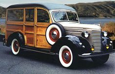 1939 Chevrolet woodie truck - wonder if you could convert that back end to a sleeping area?  Open road, here we come!