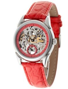 Vous recherchez une montre automatique ? Découvrez notre large sélection pour homme ou femme. Yves Camani - YC1036-C - Aila - Montre Femme - Automatique Analogique - Cadran Multicolore - Bracelet Cuir Rouge de Yves Camani, http://www.amazon.fr/dp/B008807Y6M/ref=cm_sw_r_pi_dp_vcsArb0WHGD23