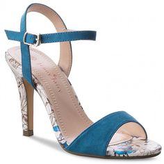 Sandały JENNY FAIRY - W16SS292-20 Niebieski
