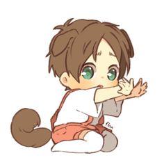 Read from the story Ảnh yaoi. [Levi X Eren] by (☘sally☘(TDT)) with reads. Anime Chibi, Anime Kawaii, Kawaii Chibi, Fanarts Anime, Cute Chibi, Anime Characters, Manga Anime, Chibi Eren, Anime Meme
