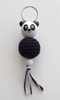 Sleutelhanger - panda - made by Marygold