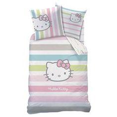 Juego de funda nórdica + funda de almohada infantil, Hello Kitty HELLO KITTY