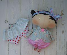 Купить Sweetheart Doll ( Милая кукла) - бледно-розовый, тильда кукла, текстильная кукла
