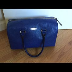 ONE DAY SALE Kate Spade Ostrich Satchel Used but in great condition. kate spade Bags Satchels