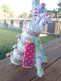 Diaper Golf Bag by Lacey Kaye Creations - Completely Customize for Your Next Baby Shower!