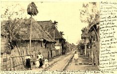 1903 street in Manila (ctto) Old Photos, Vintage Photos, Philippines Culture, Filipiniana, Pinoy, Manila, Filipino, Historical Photos, Old Houses