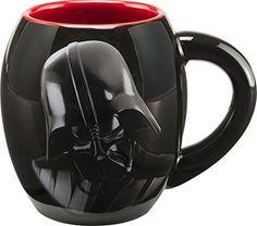 "Star Wars 99561 - Darth Vader - Taza oval de cerámica en paquete regalo 11 cm (500 ml)   Star Wars 99561 - Darth Vader - Taza oval de cerámica en paquete regalo 11 cm (500 ml)  ""Usted no sabe el poder del lado oscuro!"" ¿O usted? Si usted toma su café negro, entonces usted sabe totalmente el poder del lado oscuro, y esto de Star Wars Darth Vader 18 oz Taza de cerámica oval le ayudará a correr   #99561 #cerámica #Darth #oval #Paquete #regalo #Star #Taza #Vader #Wa"