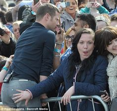 'We're having two honeymoons because of the X Factor' says Dermot O'Leary Life Is Hard, Humor, Percy Jackson, Crowd, Haha, Funny Memes, Geek Stuff, Kpop, Sayings