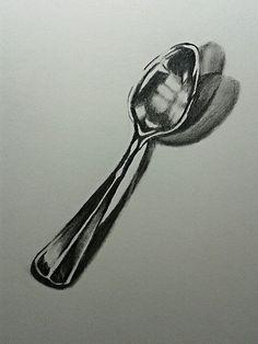 Spoon drawing (by Cari Espinosa)
