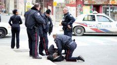 Transcript: Toronto police caught on video taking down, Tasering assault suspect - Toronto - CBC News