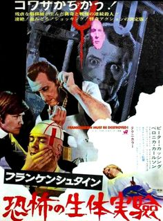 JAPANESE HORROR MOVIE POSTERS | 13 Visions: Foreign horror film posters (part 2 of 3)