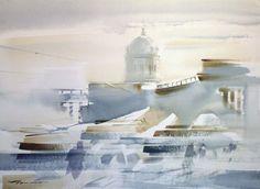 Вечный Санкт-Петербург в работах Константина Куземы