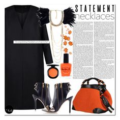 Statement by runway2street on Polyvore featuring polyvore fashion style Non Konstantina Tzovolou Caroline De Marchi Toi Et Moi MAC Cosmetics Lauren B. Beauty clothing