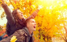 Happy couple in autumn park fall family having fun outdoors stock photo - 22848308 Saving Your Marriage, Save My Marriage, Marriage Advice, Happy Marriage, Frases Love, Fall Dates, How To Be A Happy Person, What Women Want, Autumn Park