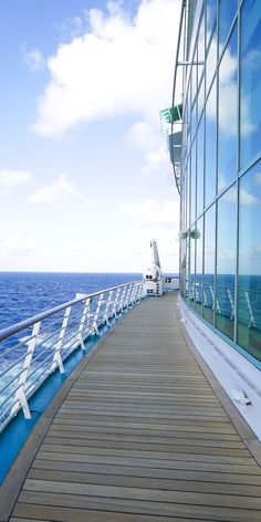 Liberty of the Seas | Imagine a quaint morning stroll with the ocean by your side, and click through to discover all the the relaxation activities you can do on your next Royal Caribbean vacation.