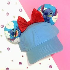 Show off your playful side with this Lilo and Stitch Inspired Baseball Hat