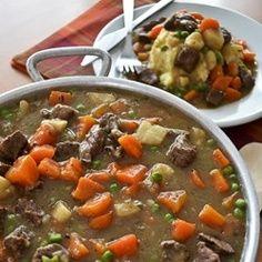 Irish Beef Stew .......Food to Warm the Soul