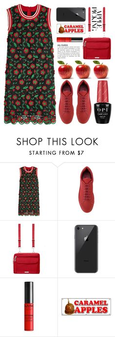 """""""Harvest Time: Apple Picking"""" by grozdana-v ❤ liked on Polyvore featuring Anna Sui, Jil Sander, Baggallini, Forever 21 and applepicking"""