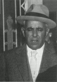 "Anthony ""Tough Tony"" Anastasio (February 1906 – March was an Italian mobster and labor racketeer for the Gambino crime who controlled the Brooklyn dockyards for over thirty years. Real Gangster, Mafia Gangster, Italian Mobsters, Albert Anastasia, Mob Wives, Apache Indian, Life Of Crime, Al Capone, Roaring Twenties"