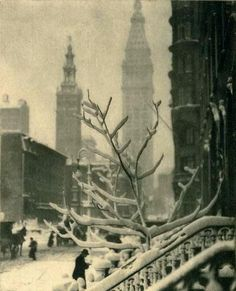 Alfred Stieglitz : New York October 1913