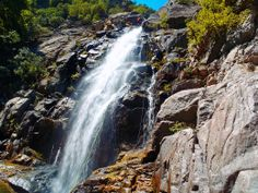 The most impressive waterfall of Fonias canyon, Samothrace island Greece, Around The Worlds, Island, Places, Outdoor, Beautiful, Landscapes, Block Island, Outdoors