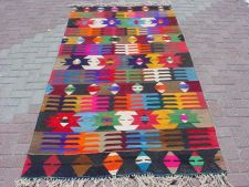 """VINTAGE Turkish Area Rug Kilim Carpet, Handwoven Kilim Rug,Antique Kilim Rug,Decorative Kilim,Area Rugs  50,3"""" X 100,3"""""""