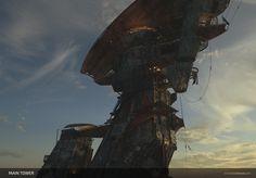 People Of The Mist - Main Tower, Steven Cormann on ArtStation at https://www.artstation.com/artwork/QP1bB