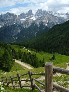 Altapusteria - Three Peaks County in East of South Tyrol, Italy