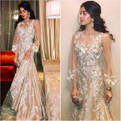 Jhanvi Kapoor in Manish Malhotra, Keshav and Veena Reddy's Wedding, MyFashgram Pakistani Dresses, Indian Dresses, Indian Outfits, Western Dresses, Western Wear, Wedding Party Dresses, Bridal Dresses, Wedding Outfits, Bollywood Fashion