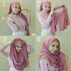 Hijab Dress Party, Hijab Outfit, Muslim Fashion, Hijab Fashion, How To Wear Hijab, Instant Hijab, Hijab Tutorial, Hijab Chic, Beautiful Hijab