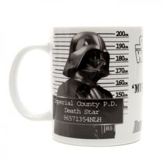 Star Wars Mug Shot Darth Vader Mug  on Yellow Octopus #giftsformen #gifts #star #wars #mug #shot #darth #vader #coffee #tea