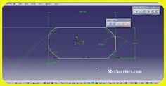 How to do the Chamfer Sketch in CATIA V5?
