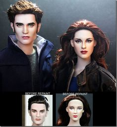 Look Like Real Celebrities !Noel Cruz Doll repaint Iconic characters