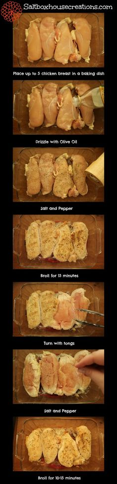 Saltbox House: How to Broil Chicken Breasts