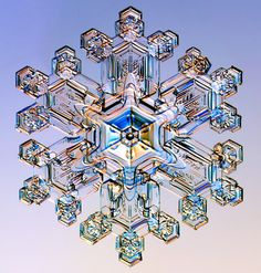 Photos Reveal the Secrets of Snowflakes' Shapes