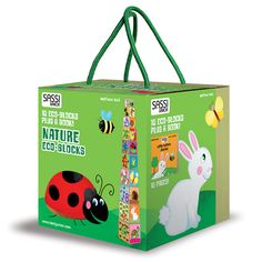 #Sassi Junior: Nature Eco-blocks - 10 blocks with a 10-pages book. Coming Soon. #eco #friendly #book #game